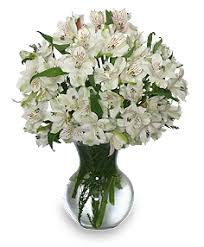white floral arrangements fleecy white flower arrangement vase arrangements flower shop