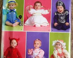 Infant Halloween Costume Patterns Baby Costume Pattern Etsy