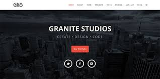 bootstrap themes free parallax 25 responsive bootstrap 3 html website templates web graphic