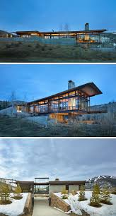 Industrial Modern House This Modern Mountain House Is Filled With Industrial Materials