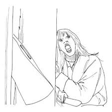 movies coloring pages horror movie coloring pages coloring horror pinterest