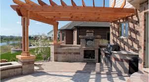 patio u0026 pergola awesome corner cabin style pergola with lantern