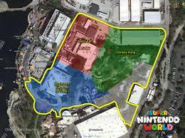 Usf Map Permits Show Super Nintendo World Taking Over Kidzone At Universal