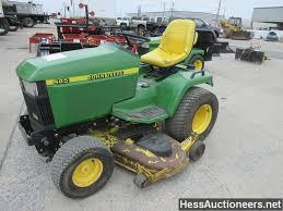 used 2004 john deere 445 lawn mower for sale in pa 23541