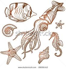 seahorse tattoo stock images royalty free images u0026 vectors
