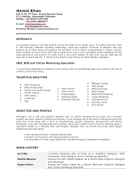 Sle Resume For Senior Graphic Designer design resume sales designer lewesmr