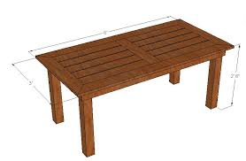Plans For Patio Furniture by Bryan U0027s Site Diy Cedar Patio Table Plans