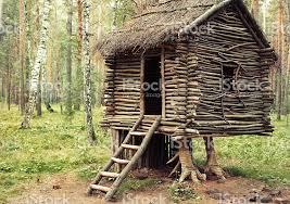 fairy grandmother hut standing on chicken legs wooden house fairy grandmother yaga