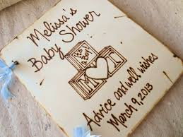 Personalized Scrapbook Baby Shower Guest Book Personalized For Parents And New Baby
