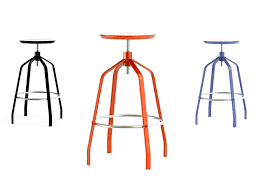 Adjustable Bar Stools Elegant Minimalist Adjustable Height Bar Stool Vito By Area Declic