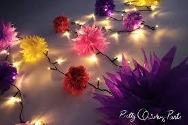 christmas tree flower lights pretty quirky pants diy fairy lights christmas tree