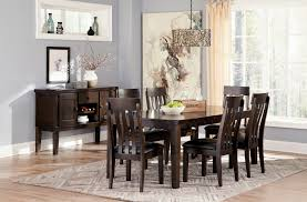 side chairs for dining room haddigan rect dining room ext table 6 uph side chairs dining