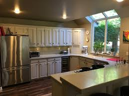 refinishing kitchen cabinets reddit kitchen cabinets repaint or replace homeimprovement