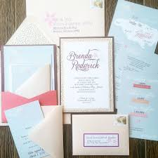 custom gallery layered wedding invitations u2014 cordial punch press