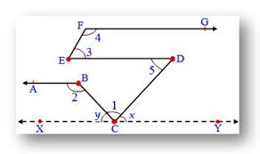 parallel and transversal lines corresponding angles worked out