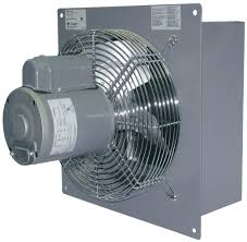 shutter exhaust fan 24 canarm sd24 gvd 24 shutter mounted wall exhaust fan 5050 cfm