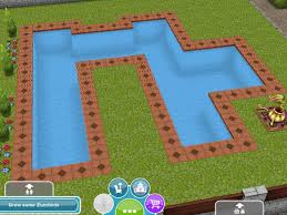 the sims freeplay designing u0026 building pools youtube