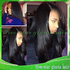 side part u part peruvian hair wigs natural black bob short silky