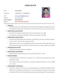 Resume Job Application Sample Of Resume Format For Job Application Sample Resume Andjob