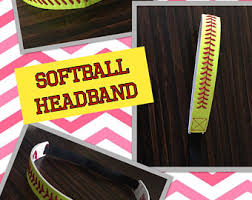 softball headbands softball headband etsy