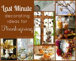 Thanksgiving Table Ideas by Last Minute Decorating Ideas For Thanksgiving