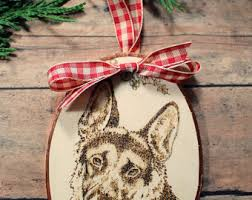 belgian shepherd ornament german shepherd gift etsy