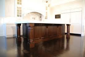 wooden legs for kitchen islands kitchen island legs interior design