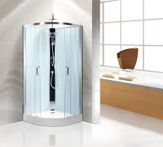 Bathroom Shower Stall Kits Comfort Bathroom Curved Shower Stall Kits Customized Free Standing