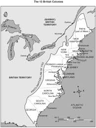 Map Of New England Colonies by Bkushistory Licensed For Non Commercial Use Only Radicals In