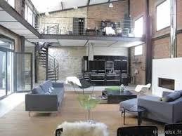 bureau loft industriel 92 très beau loft dans un style industriel grand salon