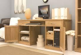 anythingfurniture mobel oak large hidden office twin pedestal desk
