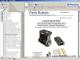 perkins spi 2009a parts catalog repair manual order u0026 download