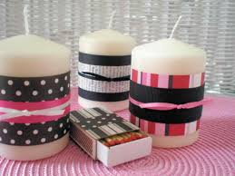 candle decoration for kids decorated s and matches mothers day