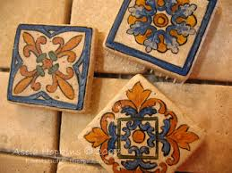 hand painted tiles kitchen backsplash for pictures to inspiration