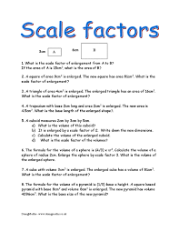 scale factors similarity and congruence doingmaths free maths