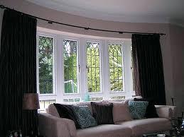 Curtain Rod Ikea Inspiration Bay Window Curtain Craftmine Co