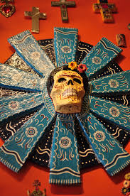 dia de los muertos day of the dead catrina style mexican folkloric
