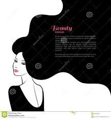 long hair vector royalty free stock photos image 24497488