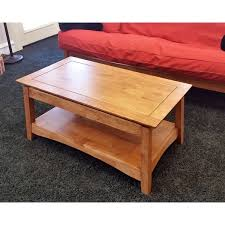 Bombay Coffee Table Unfinished Solid Parawood Bombay Lift Top Coffee Table Free