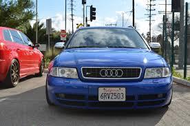 audi b5 s4 for sale nogaro blue b5 audi s4 avant front eurocar