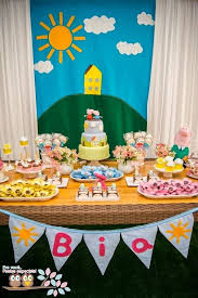 peppa pig decorations peppa pig third birthday party wish