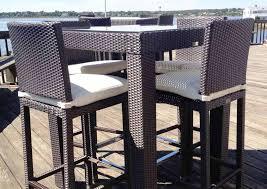 best bar height patio furniture sets