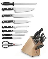 gourmet kitchen knives zwilling j a henckels professional s 10 knife block set