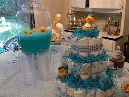 baby shower ideas boys ducky simple baby shower idea for