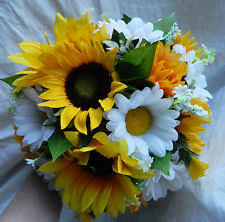 Sunflower Wedding Bouquet Sunflower Wedding Ebay