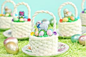easter badkets easter basket cupcakes sugarhero