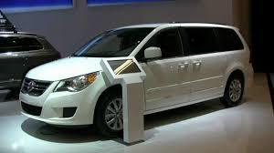 vw minivan 2012 volkswagen routan exterior and interior at 2012 montreal auto