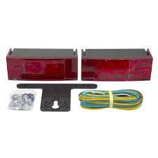 blazer led trailer lights 12 volt dc blazer international led submersible trailer light kit