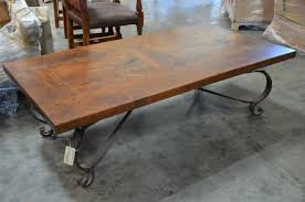 Wrought Iron Sofa Tables by Coffee Table Astonishing Iron And Wood Coffee Table Design Ideas