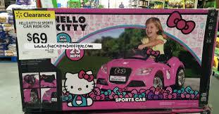 kitty sports car ride clearance 69 walmart